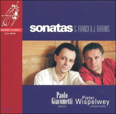 Pieter Wispelwey / Paolo Giacometti 프랑크 / 브람스: 첼로 소나타 - 비스펠베이