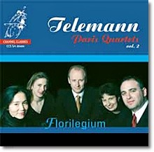 Florilegium 텔레만: 파리 4중주 2집 (Telemann: Paris Quartets Vol.2)