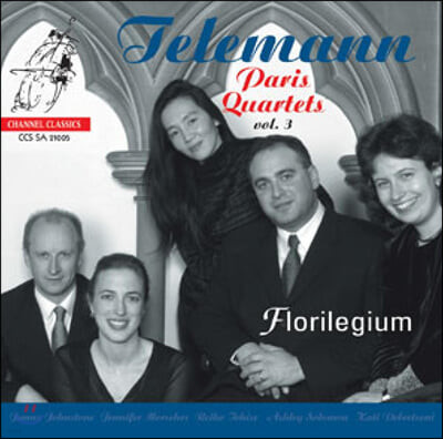 Florilegium 텔레만 : 파리 사중주 3집 (Telemann: Paris Quartets Vol.3)