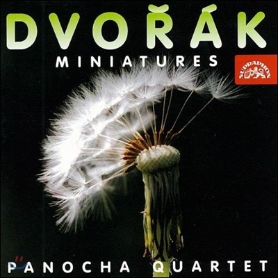 Panocha Quartet 드보르작: 실내악 소품집 (Dvorak: Miniatures)