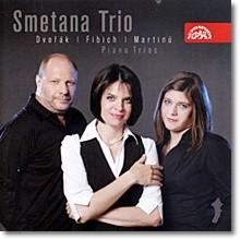 Smetana Trio 드보르작 / 피비히 / 마르티누: 피아노 트리오 (Dvorak / Fibich / Martinu: Piano Trios) 스메타나 트리오