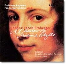 Bob van Asperen 프로베르거 에디션 2집: 시발리 부인을 위하여 (Johann Jacob Froberger Edition Vol.2) 밥 판 아스페렌