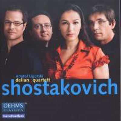 쇼스타코비치: 피아노 오중주 & 현악 사중주 4번, 6번 (Shostakovich: Piano Qunitet & String Quartets Nos.4, 6) (2CD) - Anatol Ugorski