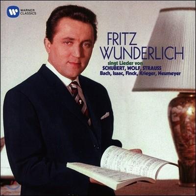 Fritz Wunderlich 슈베르트 / 슈트라우스 / 볼프 / 바흐: 가곡집 - 프리츠 분덜리히 (Singt Lieder von Schubert, Hugo Wolf, R. Strauss, J.S. Bach)