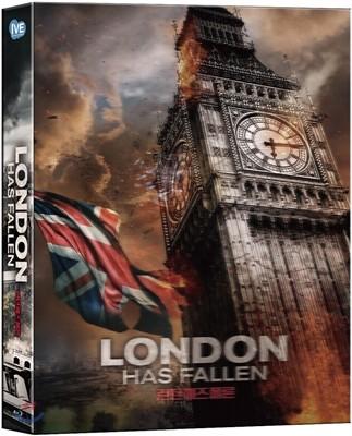 런던 헤즈 폴른 (1Disc 렌티큘러 600세트 넘버링) : 블루레이