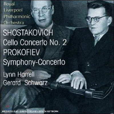 Lynn Harrell 쇼스타코비치 / 프로코피예프 : 첼로 협주곡 (Prokofiev: Symphony-Concerto)