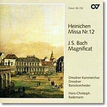 Dresdner Kammerchor 하이네헨: 미사 12번 / 바흐: 마니피캇 (Heinichen: Missa No.12 / Bach: Magnificat)