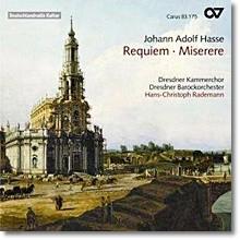 Dresdner Kammerchor 하세: 레퀴엠, 미제레레 (Hasse: Requiem, Miserere)