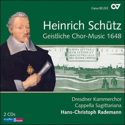 Dresden Kammerchor 쉬츠: 성스러운 합창음악 (Heinrich Schutz: Geistliche Chor-Music 1648 Op. 11, SWV 369-397) 드레스덴 실내 합창단