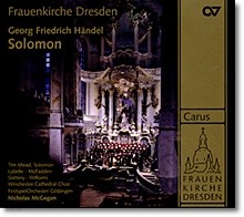 Nicholas McGegan 헨델: 오라토리오 `솔로몬` (George Frideric Handel: Solomon, HWV 67)