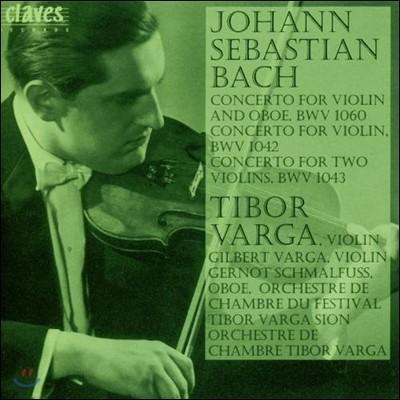 Tibor Varga 바흐: 바이올린 협주곡 (Homage to Tibor Varga Vol. 1 - Bach: Violin Concertos BWV 1060 1042 1043) )