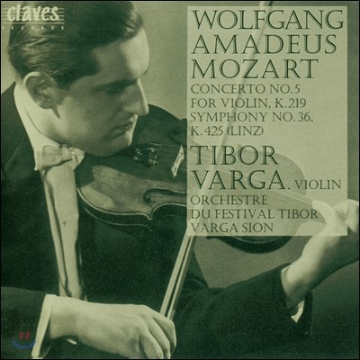 Tibor Varga 모차르트: 바이올린 협주곡 5번, 교향곡 36번 (Homage to Tibor Varga Vol. 2 - Mozart: Violin Concerto No.5 K.219)