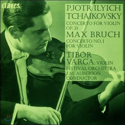Tibor Varga 차이코프스키 / 브루흐: 바이올린 협주곡 (Homage to Tibor Varga Vol. 3 - Tchaikovsky / Bruch: Violin Concertos)