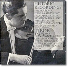 Tibor Varga 티보 바르가 바이올린 연주집 - 쇼팽 파야 페라스 후바이 스트라빈스키 사라사테 (Homage to Tibor Varga Vol. 4 - Historic Recording)