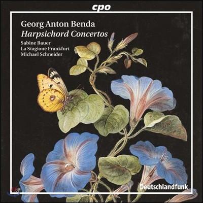 Sabine Bauer 안톤 벤다 : 하프시코드 협주곡집 (Georg Anton Benda: Harpsichord Concertos)