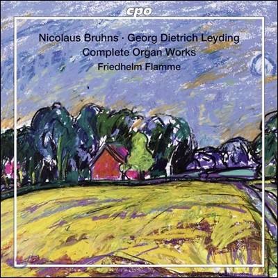 Friedhelm Flamme 니콜라우스 브륀스: 오르간 작품 전집 (Nicolaus Bruhns: Complete Organ Works)