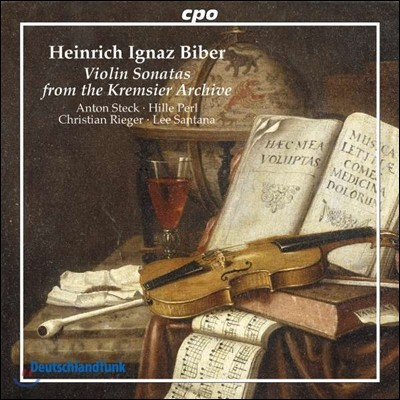 Anton Steck / Hille Perl 비버 / 무파트: 바이올린 소나타 (Biber / Muffat: Violin Sonatas from the Kremsier Archive)