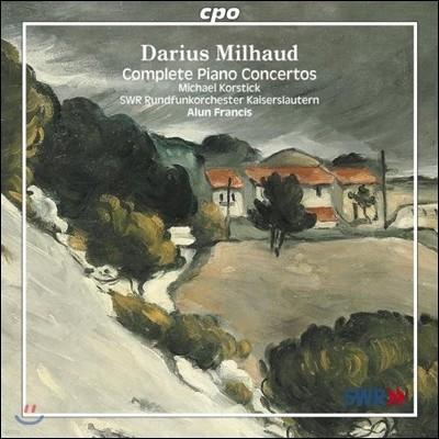 Michael Korstick 다리우스 미요: 피아노 협주곡 전곡집 (Darius Milhaud: Complete Piano Concertos)