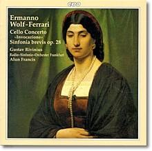 볼프-페라리 : 첼로 협주곡