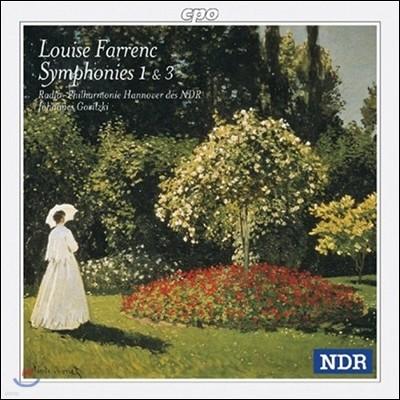 Johannes Goritzki 루이즈 파렝: 교향곡 1번 3번 (Louise Farrenc: Symphonies Nos. 1 and 3)