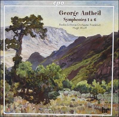 Hugh Wolff 조지 앤타일: 교향곡 1번 6번 (George Antheil: Symphonies Nos. 1 & 6)