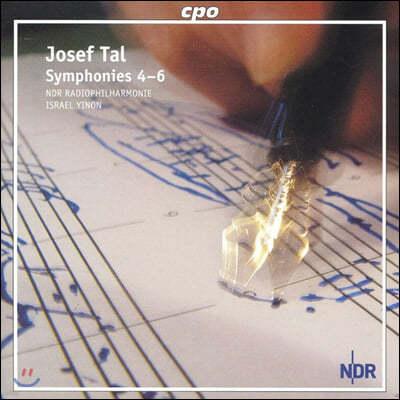 Israel Yinon 요제프 탈: 교향곡 4, 5, 6번 (Josef Tal : Symphonies 4-6)