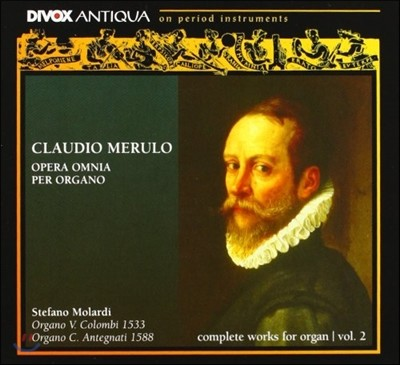 Stefano Molardi 클라우디오 메룰로: 오르간 작품 2집 (Claudio Merulo: Complete Works for Organ, Volume 2)