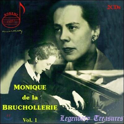 Monique De La Bruchollerie Vol. 1 모차르트: 피아노 협주곡 20, 23번 / 베토벤: 피아노 협주곡 3번