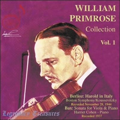 윌리엄 프림로즈 비올라 연주집 - 베를리오즈 / 박스 (The William Primrose Collection, Volume 1 - Berlioz / Bax )