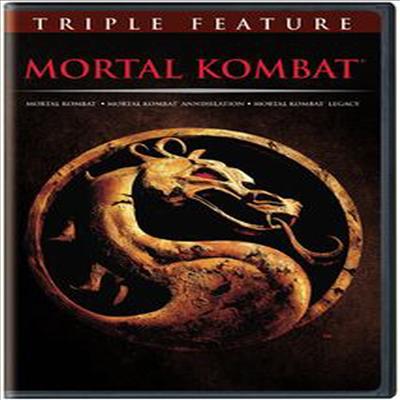 Mortal Kombat / Mortal Kombat Annihilation / Mortal Kombat Legacy (모탈 컴뱃 / 모탈 컴뱃 2 / 모탈 컴뱃 레거시)(지역코드1)(한글무자막)(3DVD)