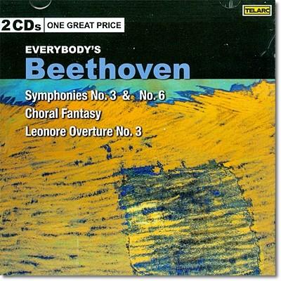 Christoph von Dohnanyi 베토벤: 교향곡 3번 & 5번, 합창 환상곡, 레오노레 서곡