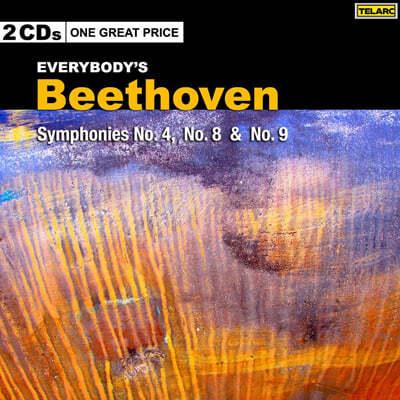 베토벤 : 교향곡 4번, 8번 & 9번