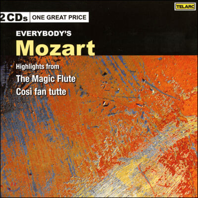 Barbara Hendricks 모차르트: 마술피리, 코지 판 투테 (Mozart: Highlights from The Magic Flute, Cosi Fan Tutte)