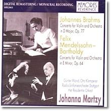 브람스 / 멘델스존 : 바이올린 협주곡 - 마르치
