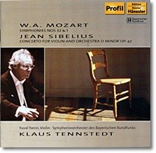 Klaus Tennstedt 모차르트: 교향곡 1번 32번 / 시벨리우스: 바이올린 협주곡 (Mozart: Symphonies Nos. 1 & 32)