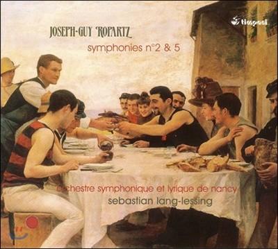 Sebastian Lang-Lessing 로파르츠: 교향곡 2번 5번 (Joseph-Guy Ropart: Symphony No. 2 No.5)
