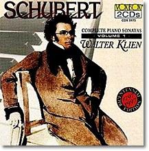 슈베르트 : 피아노 소나타 전집 Vol.1