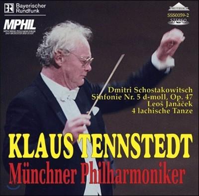 Klaus Tennstedt 쇼스타코비치: 교향곡 5번 (Shostakovich: Symphony No. 5 in D minor, Op. 47)
