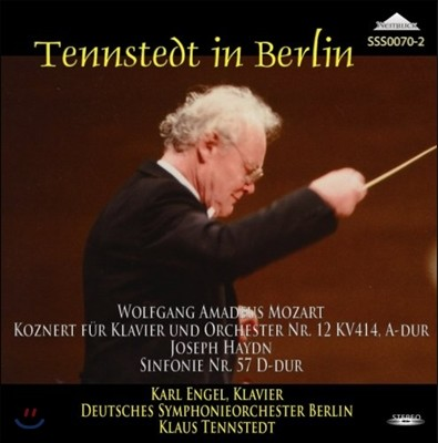 Klaus Tennstedt / Karl Engel 하이든: 교향곡 57번 / 모차르트: 피아노 협주곡 12번 - 클라우스 텐슈테트 (Haydn: Symphony No.57 / Mozart: Piano Concerto K. 414)