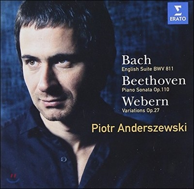 Piotr Anderszewski 베토벤: 피아노 소나타 31번 / 바흐: 영국 모음곡 (Bach: English Suite BWV 811/ Beethoven  Piano Sonata Op.119)