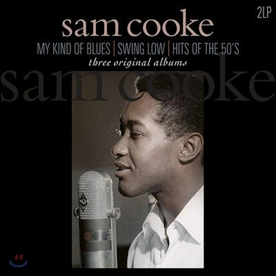 Sam Cooke (샘 쿡) - My Kind Of Blues / Swing Low / Hits Of The 50's [2LP]
