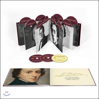 쇼팽 작품 전집 20CD 박스세트 (The Complete Chopin 20CD+DVD Deluxe Edition)