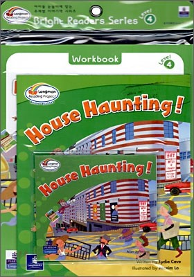 Bright Readers Level 4-7 : House Haunting! (Paperback & CD Set)