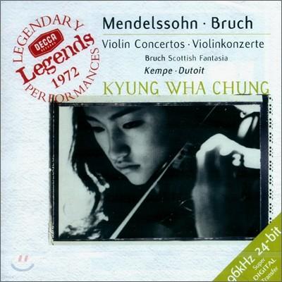 정경화 - 멘델스존 / 브루흐 : 바이올린 협주곡 (Mendelssohn / Bruch : Violin Concerto)