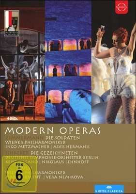 Kent Nagano / Marc Albrecht 모던 오페라 - 침머만: 병사들 / 슈레커: 낙인 찍힌 자들 / 베르크: 룰루 (3 Modern Operas - Zimmermann: Die Soldaten / Schreker: Die Gezeichneten / Berg: Lulu)