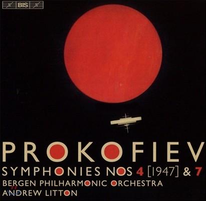 Andrew Litton 프로코피에프: 교향곡 4번[1947 버전], 7번 (Prokofiev: Symphonies Op.112 & 131) 앤드류 리튼, 베르겐 필하모닉
