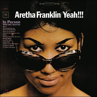 Aretha Franklin (아레사 프랭클린) - Yeah!!!: Aretha Franklin In Person With Her Quartet