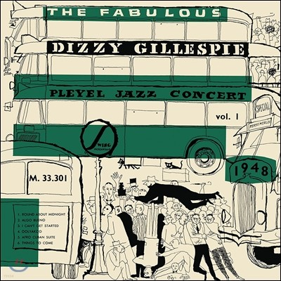 Dizzy Gillespie (디지 길레스피) - The Fabulous Pleyel Jazz Concert Vol.1: 1948
