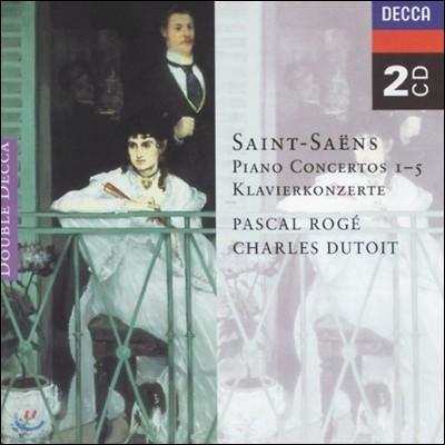 Pascal Roge 생상스: 피아노 협주곡 전곡집 (Saint-Saens: Piano Concertos 1-5)