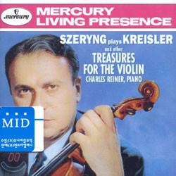크라이슬러 : 바이올린 명곡집 - 헨릭 셰링